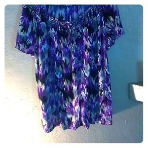 Jms keyhole blouse